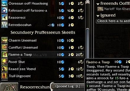 Guild Wars in bork bork bork-ese