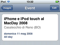 iPhone e iPod touch al MacDay 2008